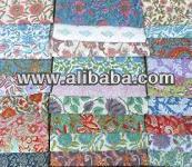100% cotton indian jaipur sanganeri handblock printed fabric for dress material