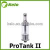 Pyrex protank 2 glassomizer more advanced than protank mini and protank I atomizer