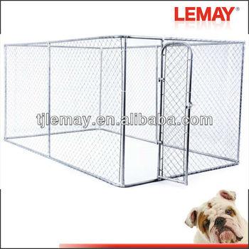 7.5*13*6 foot galvanized chain link aluminum cage
