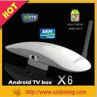 Amlogic 8726 MX TV Box S6 tv box super cheap dual core tv box