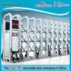Aluminum folding gate price barrier gate iron pipe gate design