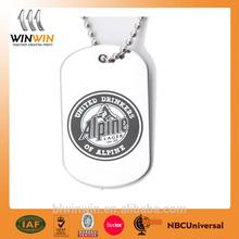 Brand logo dog tags wholesale /souvenir dog tag