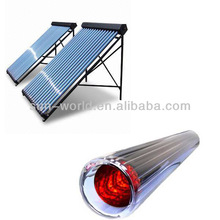 Heat Pipe Evacuated Tube Collector,vacuum tube solar water heater collector
