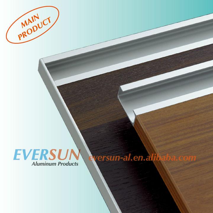 Shape aluminum extrusion kitchen cabinet handle view kitchen cabinet