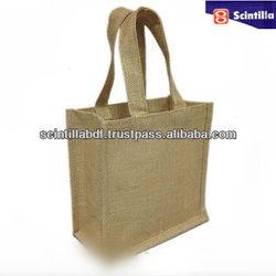 Nature Jute bag, jute tote bag from Bangladesh ,Custom bag and Size acceptable