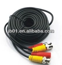 BNC+RCA +DC for security camera dvrs white 20meters audio ,video ,CCTV extension cables