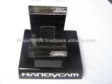 Acrylic camera display stand