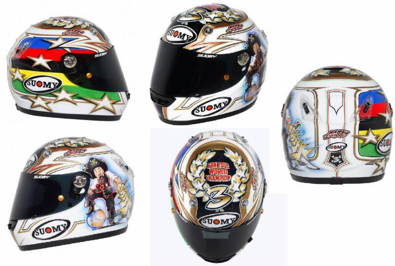 Suomy Vandal Max Biaggi World Champion Ltd. 2012