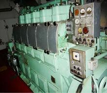 Usado motores marítimos& gne set