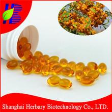 Nutrition supplement seabuckthorn oil softgel