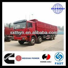 De alta calidad shacman d- largo f2000 8x4 volcado pesados que truckbetter isuzu camión de volteo para la venta