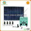 110v output 300w off grid hybrid solar wind power system for fan