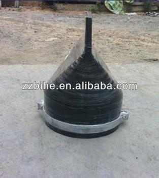 Medium temperature rubber slowly-closing check valve