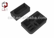 black polyurethane packaging foam density:20kg( manufacturer)