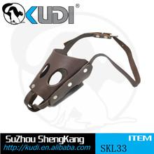 Spiked Real Leather Latigo Dog Muzzle SKL34