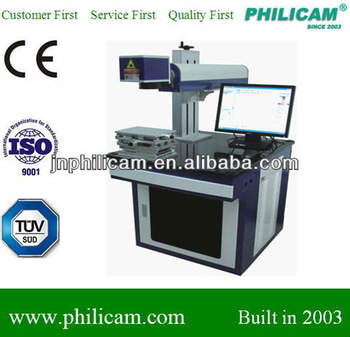 low price!!! PHILICAM fiber laser marking/ear tag laser marking machine(CE&ISO)