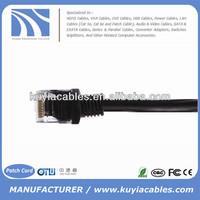 Black UTP Ethernet Cat6 Jumper Cable