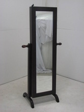 Jewellery Cabinet with full lenght mirror & locable cupboard