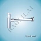 Brass Bottle Trap Basin Anti Siphon