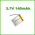 Lp401140 140 mah 3.7v lipo batería de iones de litio de la batería para el gps, pda, e- libro, pmp, psp, pos portátiles de dispositivos médicos