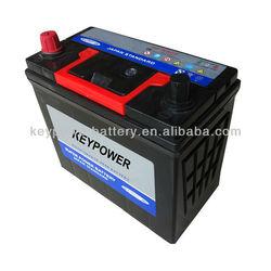 Wholesale of 12V Korean Car Battery NS60 12v 45ah