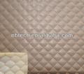 macio acolchoado de couro do plutônio tecido para bolsas e roupas