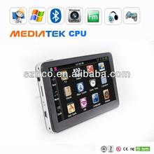 Shenzhen factory 5 inch gps navigation wince 6.0 core version