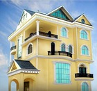 High quality elastic exterior wall paint coating