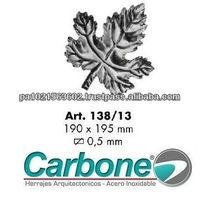Decorative Wrought Iron Leaf