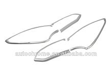 Car Accessory Chrome Tail Light Cover for Hyundai Santa Fe 2013