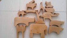 Wooden puzzle design 16 Enzo Mari Animali Puzzle