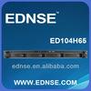"ED104H65 4x3.5"" Hot-swap Drive bay IPC Rackmount mini-itx 1U server chassis"