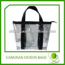 Wholesale transparent pvc tote bag