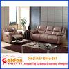 Neoclassical desgin living room electric leather sofa recliner set EA41#