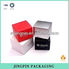 color shining cardboard cube paper box