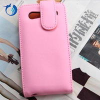 Magnetic pu leather case for samsung i9070 galaxy s advance flip case