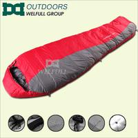Mummy sleep bags organic cotton 4 season sleeping bag