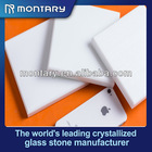 pure white nano crystalllized solid surface
