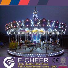 most popular amusement park rides musical carousel gift