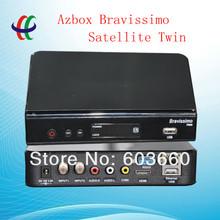sales promotional !!! zbox bravissimo twin tuner nagra3 /receptor azbox bravissimo hd