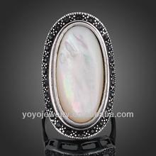 Stylish 925 sun sliver world championshio single stone ring design