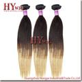 Mejor venta de Ombre Hair Extension pelo peruano de la Virgen