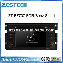 ZESTECH For Mercedes-Benz Smart Fortwo DVD 2012 With GPS Navigation car radio for Mercedes Benz Smart fortwo car dvd player