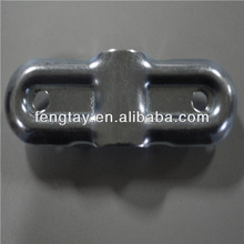 Chrome Plated Metal Pipe Joint for rack
