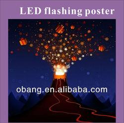 2013 LED advertising light box/poster