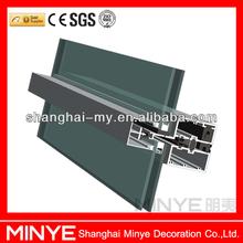 tempered curtain wall glass/aluminium composite panel curtain wall/glass for curtain wall