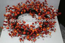 Plastic Cherry fruits wreaths
