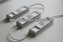 Module with aluminum