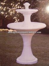 Pink Marble Garden Fountain