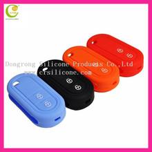Hot selling soft hand feelins silicone auto key cover for Mazda remote silicon key cover pink,fashion new design remote key case